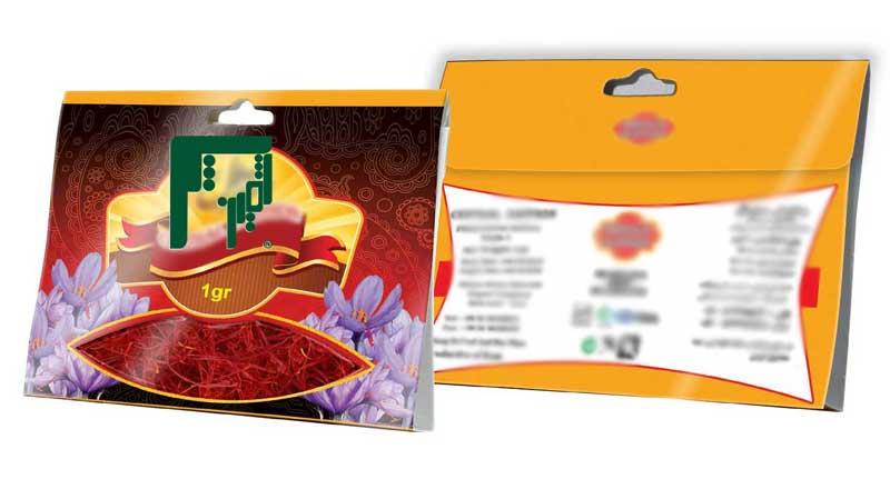 خرید سلفون بسته بندی زعفران