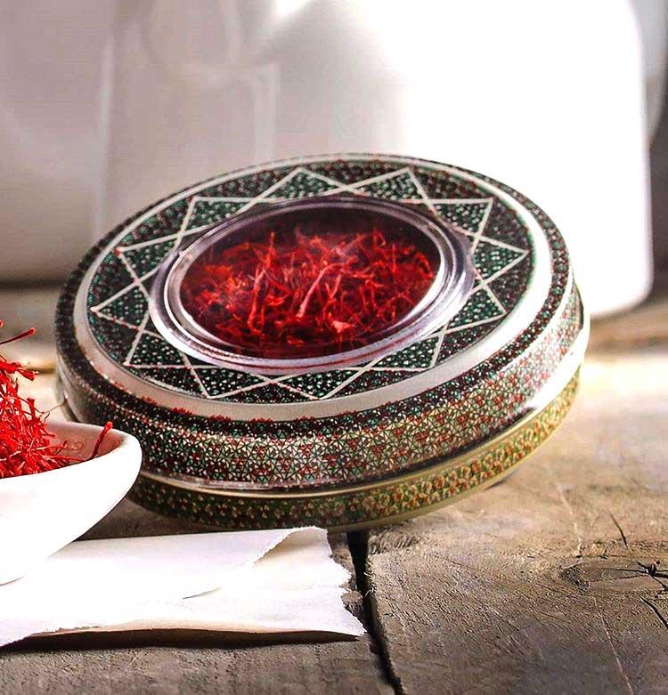 فروش ظروف خاتم زعفران